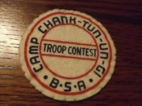 1948(pre) Camp Chank-tun-un-gi Troop Contest Felt Patch with damage.jpg